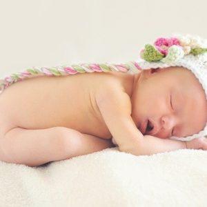 Bebé recién nacido en Zaragora